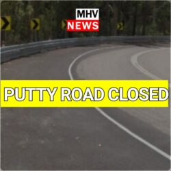 PUTTY RD CLOSED MILBRODALE – SERIOUS CRASH