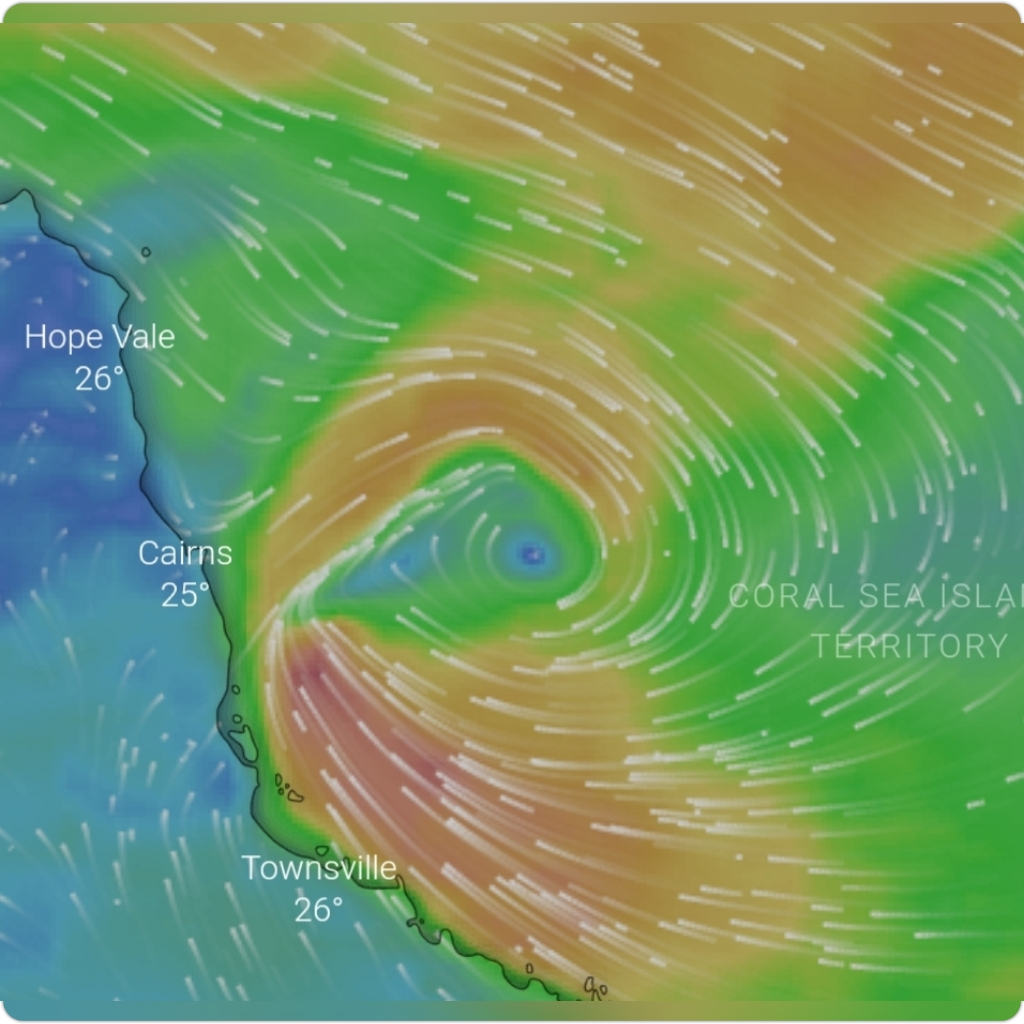 CYCLONE EXPECTED TO FORM OFF THE FAR NORTH COAST QLD