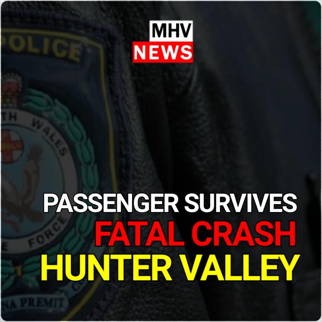 PASSENGER SURVIVES FATAL CRASH