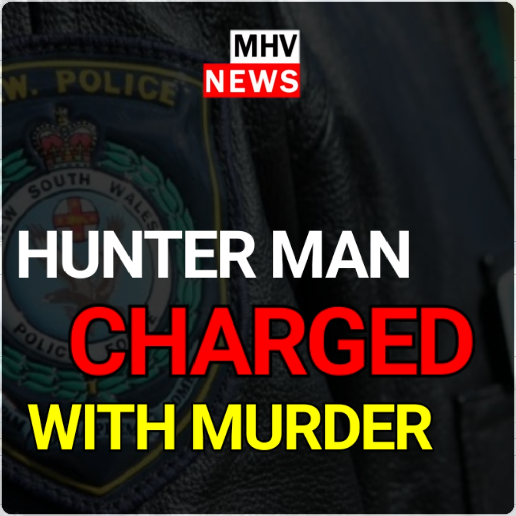 HUNTER MAN CHARGED WITH MURDER OF 16-YEAR-OLD TEENAGER
